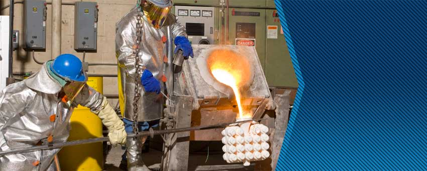 refined and consistent foundry process for the most difficult alloys